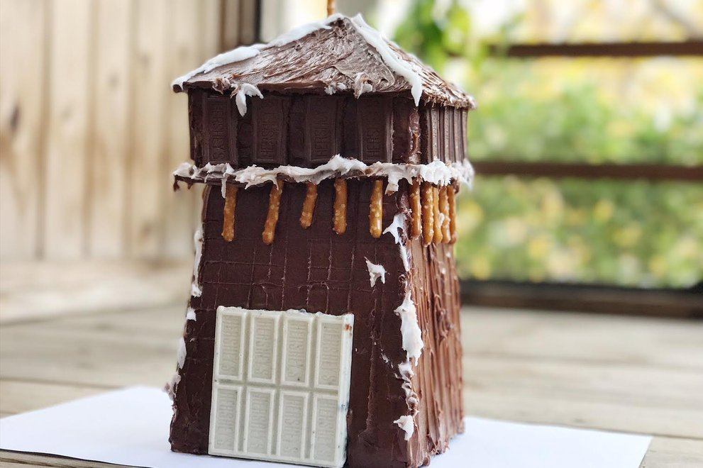 2016 Gingerbread House