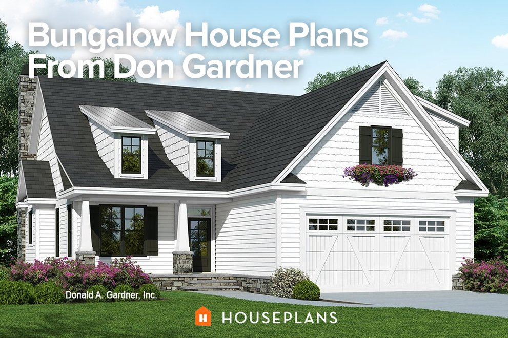 Bungalow House Plans From Don Gardner