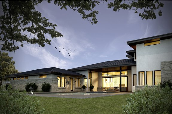 Home Plan - Everything is Bigger in Texas, Especially Outdoor Living