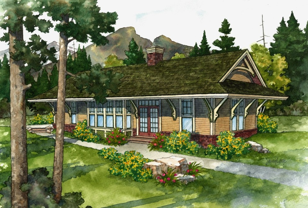 Cabins Inspired by Railroad Depots & Fire Lookouts ... on rome house plans, water house plans, passenger car house plans, pittsburgh house plans, riverside house plans, richfield house plans, washington house plans, rockwood house plans, round barn house plans, israel house plans, construction house plans, roadside house plans, hanover house plans, california house plans, springfield house plans, 1800's house plans, truck house plans, palmyra house plans, windsor house plans, railroad home,
