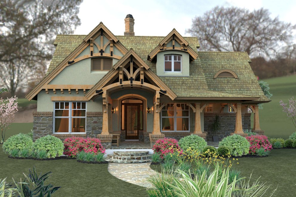 Awe Inspiring Storybook Cottage Style Houseplans Blog Houseplans Com Interior Design Ideas Oteneahmetsinanyavuzinfo