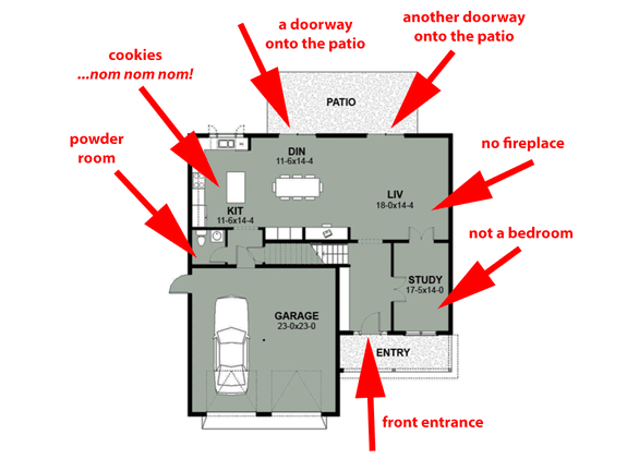 House Plan Design - Santa-Friendly (and Not-So-Friendly) House Plans