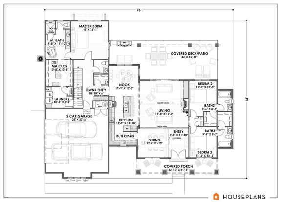 Stylish And Smart 2 Story House Plans With Basements Houseplans Blog Houseplans Com