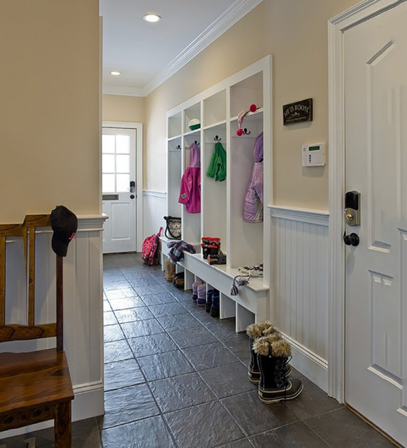 Stylish and Clean: Mudroom Design Plans