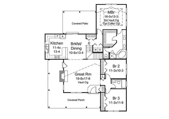 Home Plan - 10 Small House Plans with Open Floor Plans