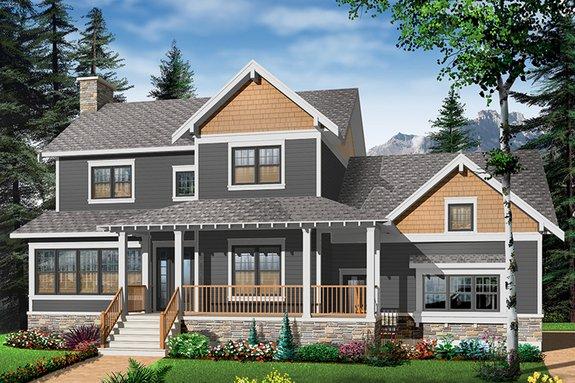 cool modern farmhouse exterior | Texas Trends: Black Modern Farmhouse Plans Houseplans Blog ...