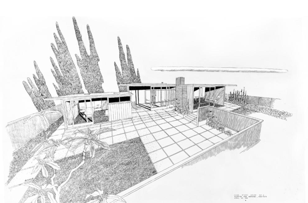 Build a Mid-century Modern Case Study House Houseplans Blog