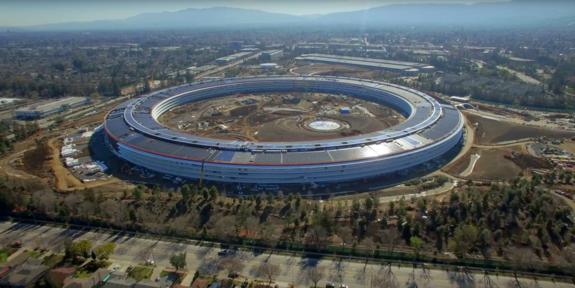 Apple's New Spaceship Campus