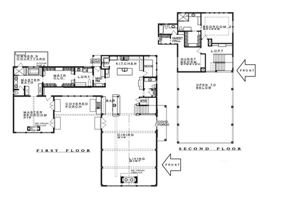 Texas House Plans with Modern Farmhouse Style