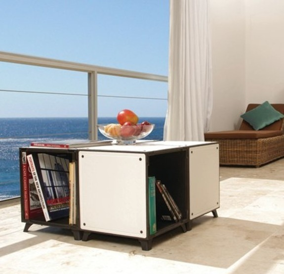 Milk Crate-Inspired Storage System