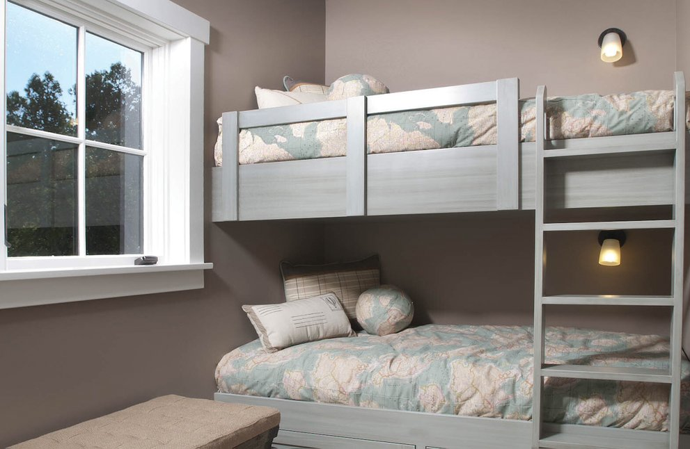 Bunk Rooms Provide Functional Sleeping Spaces