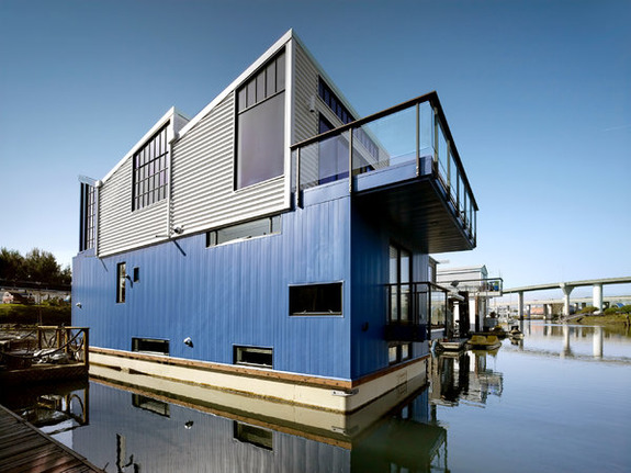 The Coolest Floating House