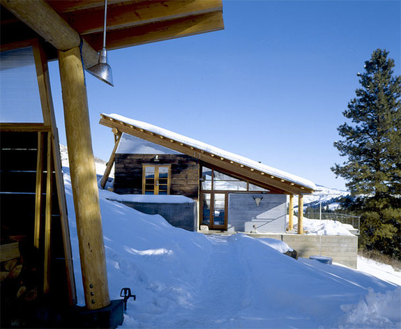 Snow Country Cabin by Balance Associates