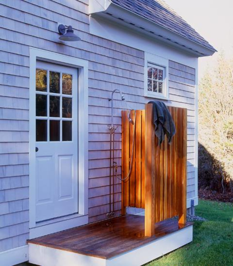 How To Add an Outdoor Shower