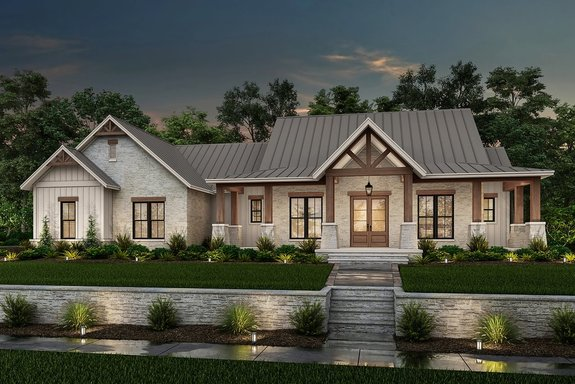 Trending: House Plans with Home Offices