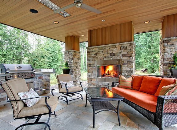 Outdoor Fireplaces, Fire Pits, and Fire Bowls
