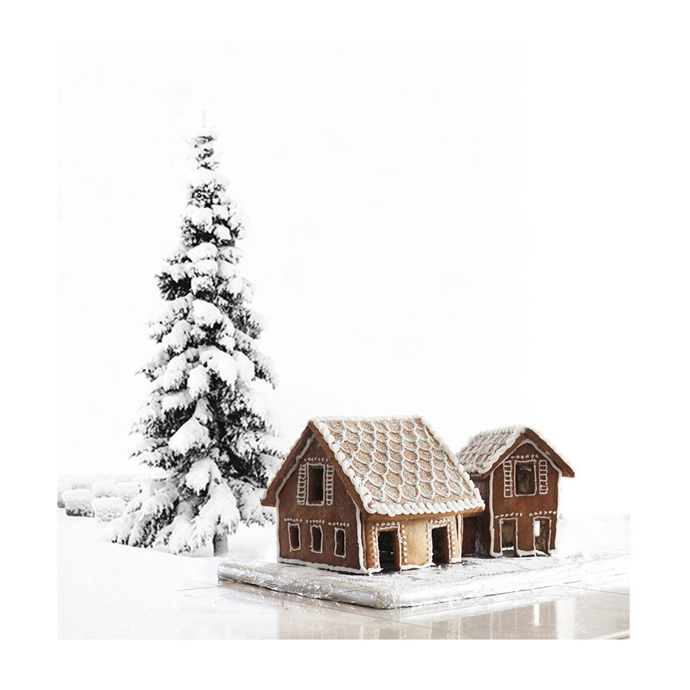A Gingerbread Beach House You Can Build!