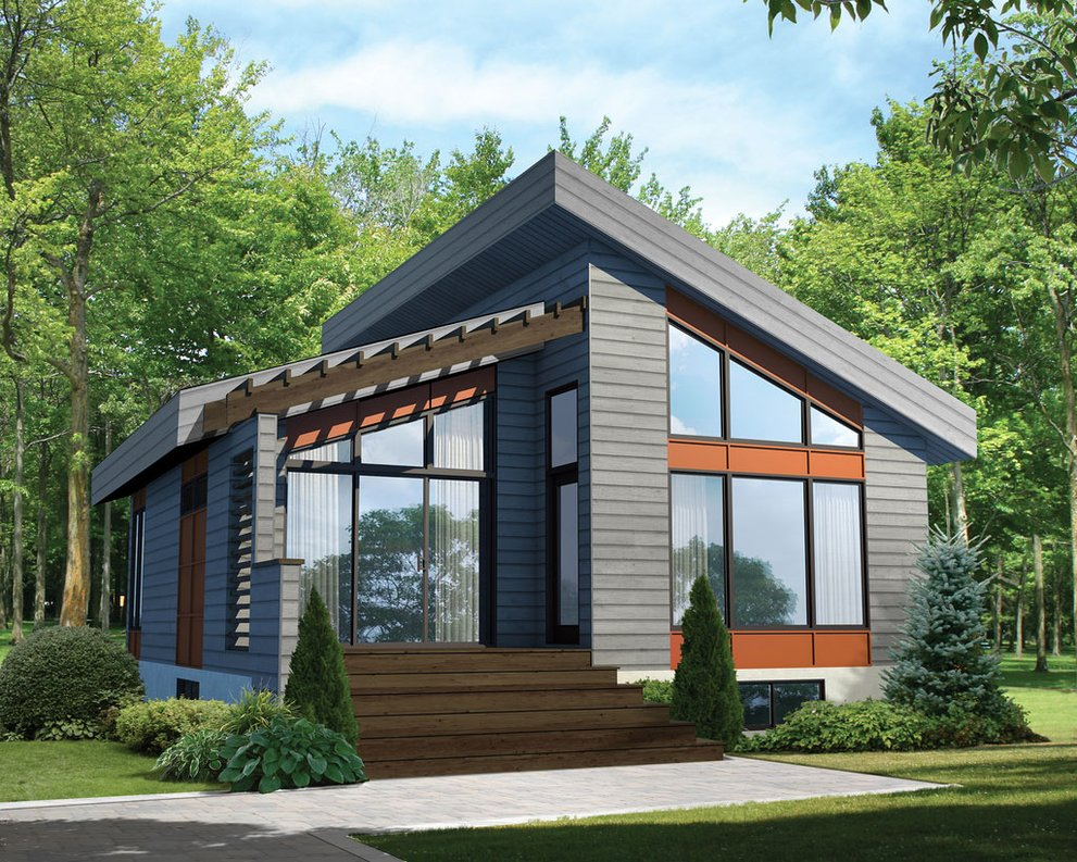 Stylish House Plans for Small Lots