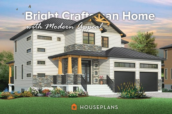 Craftsman Style House Plans: Big and Small