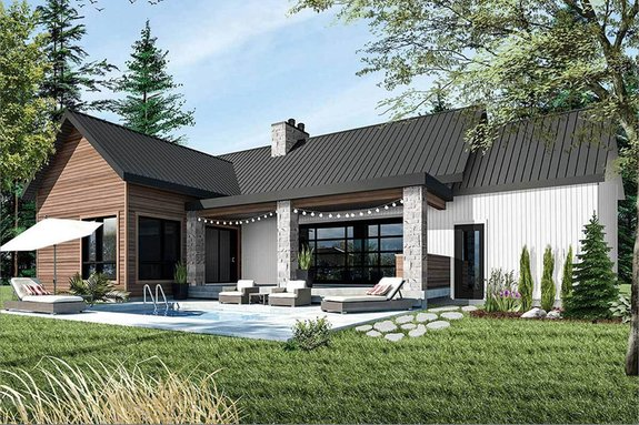 Cool Modern House Plan Designs with Open Floor Plans ...