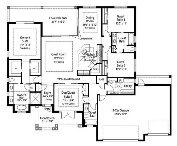 Cool Energy-Efficient Concrete House Plans