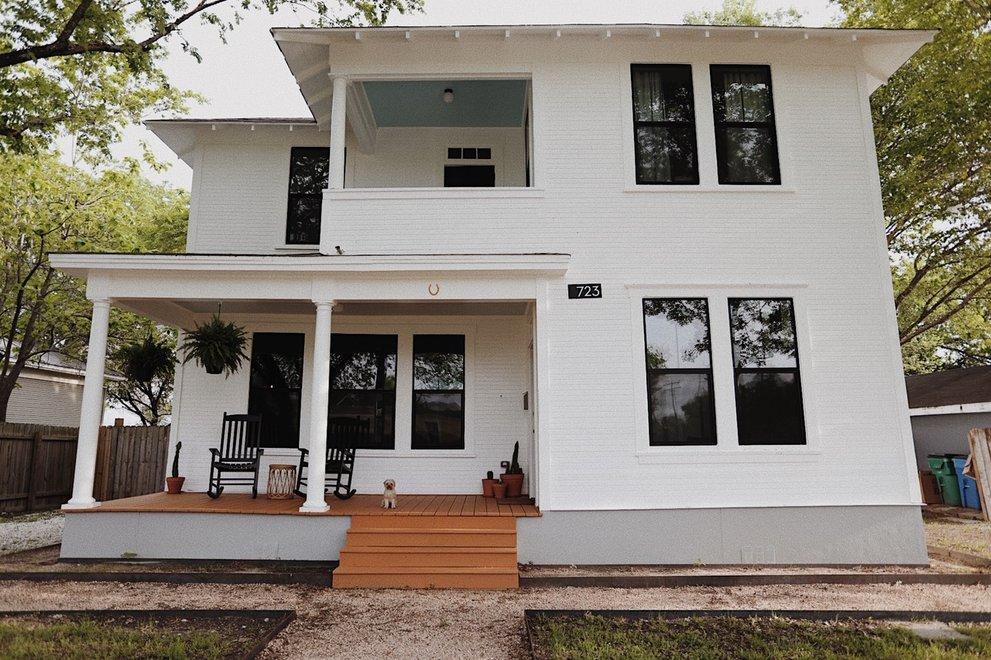 Texas House Plans with Modern Farmhouse Style