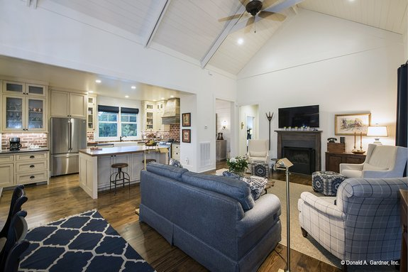 How Do You Decorate A Large Open Floor Plan Houseplans Blog Com