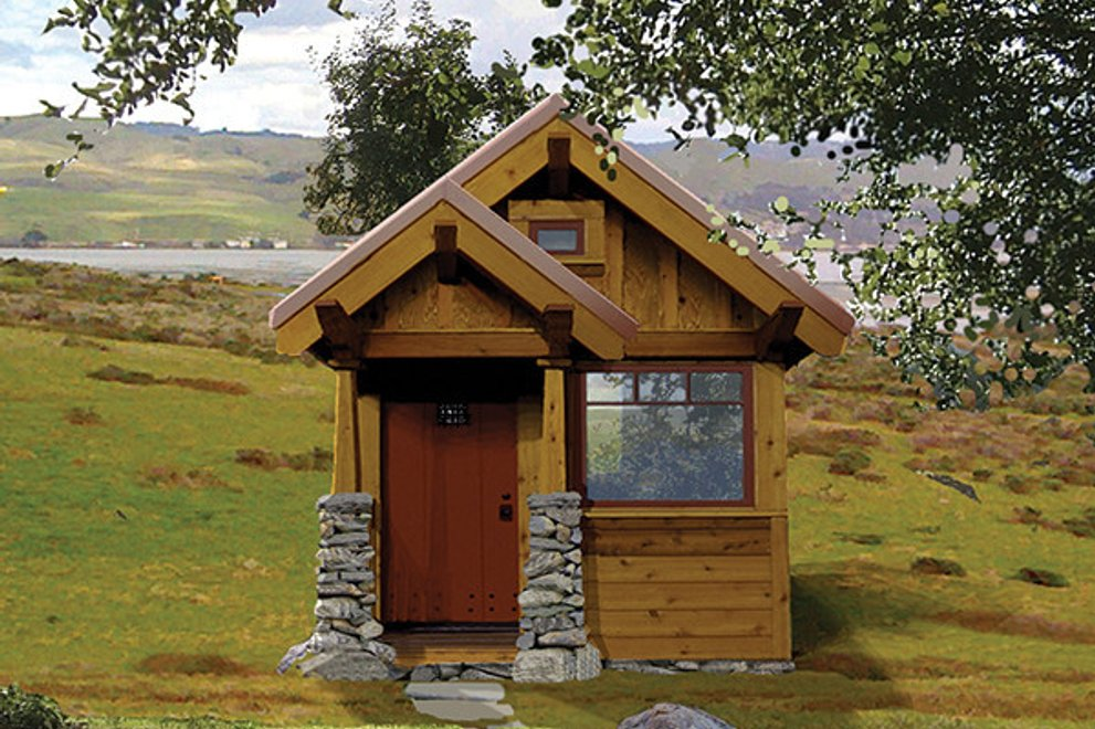 How To Build a Tiny Cabin with Your Daughter