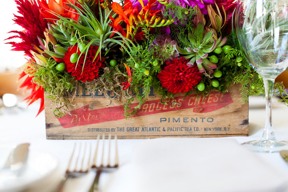 Holiday Floral Tabletop Ideas