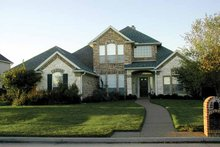 Home Plan - European Exterior - Front Elevation Plan #84-712