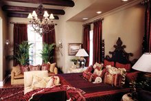 Architectural House Design - Country Interior - Master Bedroom Plan #952-182