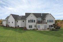 House Plan Design - European Exterior - Rear Elevation Plan #928-100