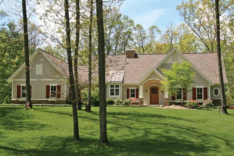 Craftsman Exterior - Front Elevation Plan #928-207 - Houseplans.com