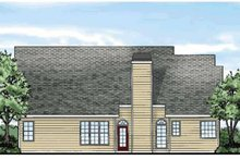 House Plan Design - Country Exterior - Rear Elevation Plan #927-262