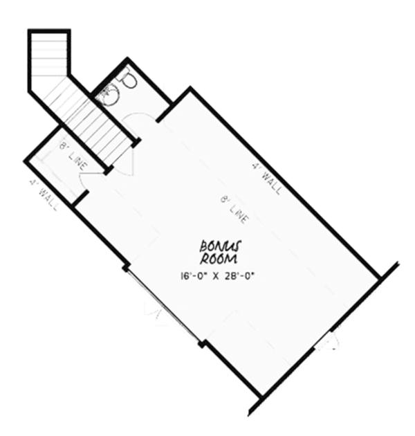 Country Floor Plan - Other Floor Plan Plan #17-3371