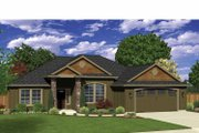 Ranch Style House Plan - 3 Beds 2 Baths 2006 Sq/Ft Plan #943-33 Exterior - Front Elevation
