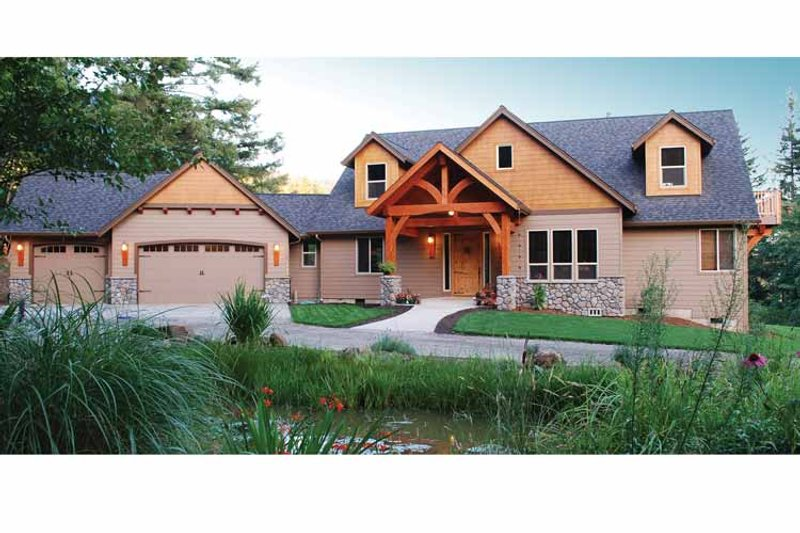 Craftsman Exterior - Front Elevation Plan #943-22 - Houseplans.com