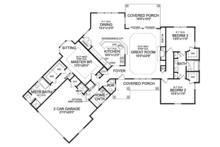 Craftsman Floor Plan - Main Floor Plan Plan #314-270