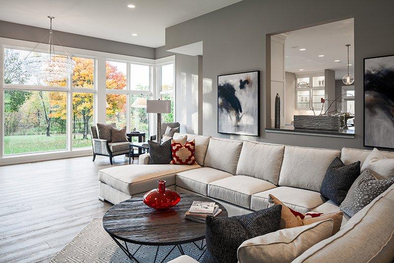 Contemporary Interior - Family Room Plan #928-287 - Houseplans.com