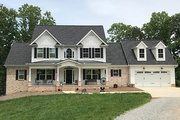 Farmhouse Style House Plan - 4 Beds 3.5 Baths 2529 Sq/Ft Plan #437-78 Exterior - Front Elevation