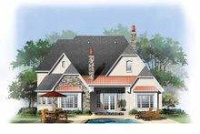 Cottage Exterior - Rear Elevation Plan #929-841