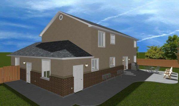Traditional Floor Plan - Other Floor Plan Plan #1060-17