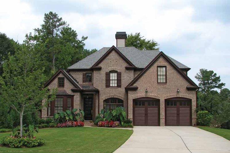 Dream House Plan - European Exterior - Front Elevation Plan #54-290