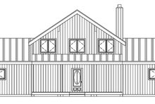 Contemporary Exterior - Front Elevation Plan #1061-8