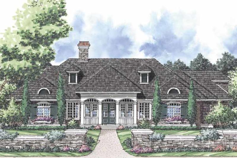 Ranch Exterior - Front Elevation Plan #930-245 - Houseplans.com
