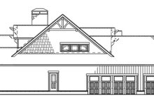 Country Exterior - Other Elevation Plan #17-3315