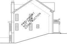 Classical Exterior - Other Elevation Plan #927-576