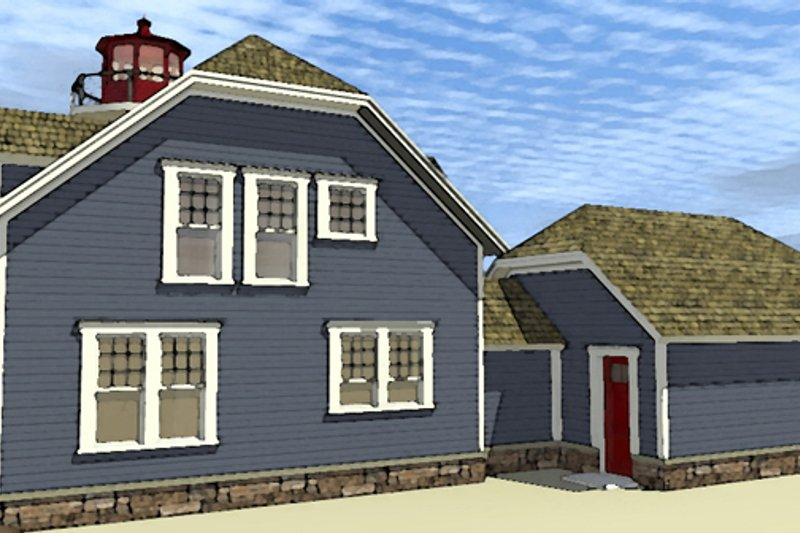 Colonial Exterior - Other Elevation Plan #64-302 - Houseplans.com