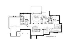 Country Floor Plan - Lower Floor Plan Plan #928-264