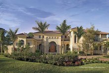 Architectural House Design - Mediterranean Exterior - Front Elevation Plan #930-398